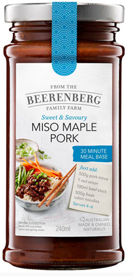 Miso Maple Pork 30 Minute Meal Base - 240ml