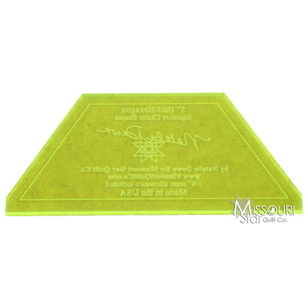 Missiouri Star Small Half Hexagon
