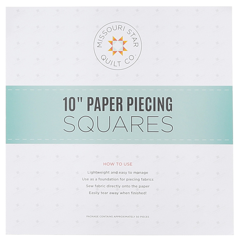 "Missouri Star 10"" Paper Piecing Squares"