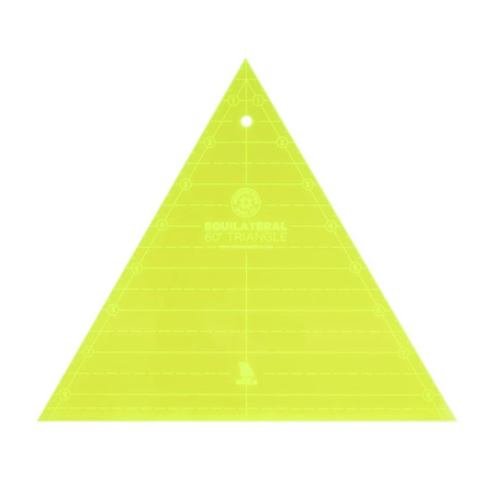 """Missouri Star 8"""" Equilateral 60 Degree Triangle Ruler"""