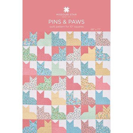 Missouri Star Quilt Pins & Paws Quilt Pattern