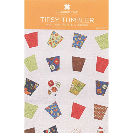 Missouri Star Quilt Tipsy Tumbler Quilt Pattern