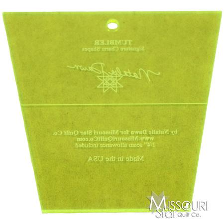 Missouri Star Quilt Tumbler Template