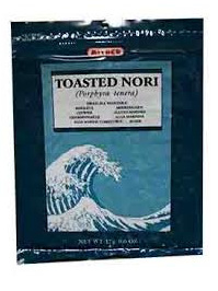 Mitoku Toasted Nori Seaweed - 7 sheets