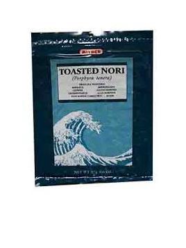 Mitoku Toasted Nori Seaweed 7pk 17g