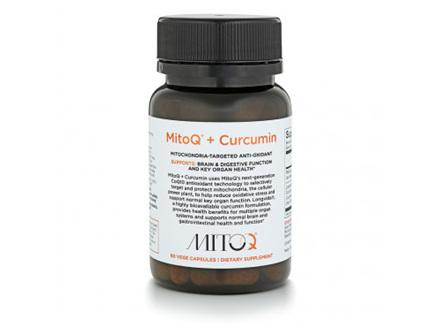 MitoQ + Curcumin 60caps