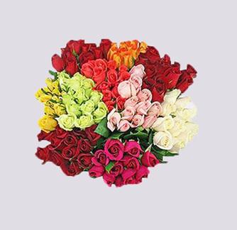 Beautiful Mixed Roses