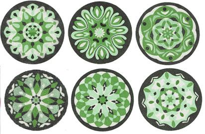 MMSet06 - Mini Mandala All 6 designs