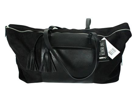 Moana Rd Akaroa Overnight Bag Black