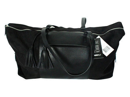 Moana Rd Akaroa Overnight Bag Black