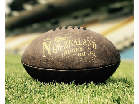 Moana Rd Antique Rugby Ball - Inflated or Deflated