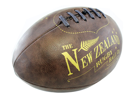 Moana Rd Antique Rugby Ball Large