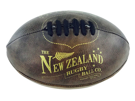 Moana Rd Antique Rugby Ball Mini
