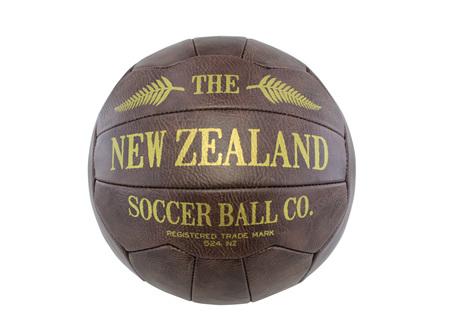 Moana Rd Antique Soccer Ball