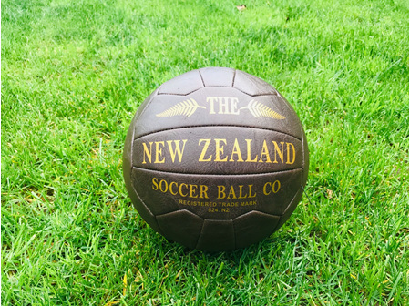 Moana Rd Antique Soccer Ball