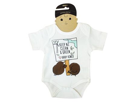 Moana Rd Baby Kiwi Onesie 0-3 Months