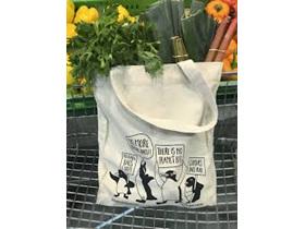 Moana Rd Bag Canvas Tote Penguin Coromandel