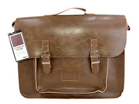 Moana Rd Bag High School Bag Large - Stubbies Brown