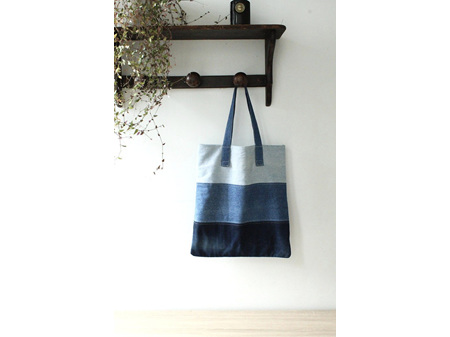 Moana Rd Bag K Road Recycled Denim Tote