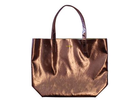 Moana Rd Bag Ponsonby Metal Tote Bronze