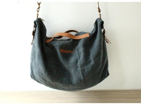 Moana Rd Bag Raglan Dark Grey