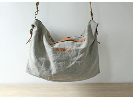 Moana Rd Bag Raglan Light Grey