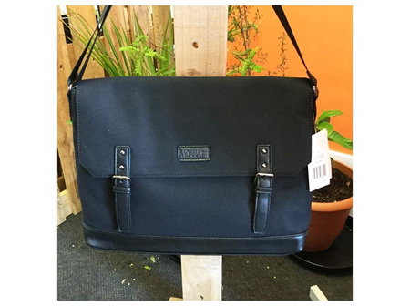 Moana Rd Bag The Carisbrook Black Satchel