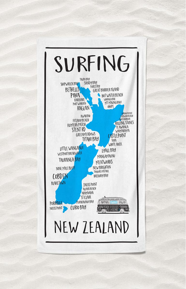 Moana Rd Beach Towel Nz Surf Locations