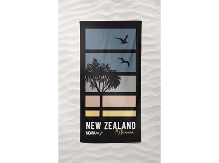 Moana Rd Beach Towel Sunrise