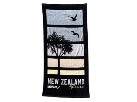 Moana Rd Beach Towel Sunset