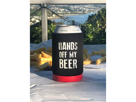 Moana Rd Beer Can Holder Hands off my Beers