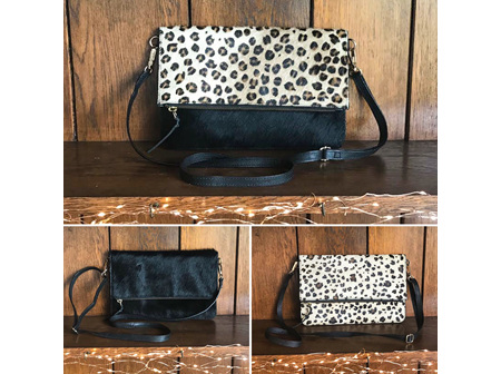 Moana Rd Cambridge Bag Leopard