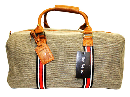 Moana Rd Canvas Overnight bag Nelson