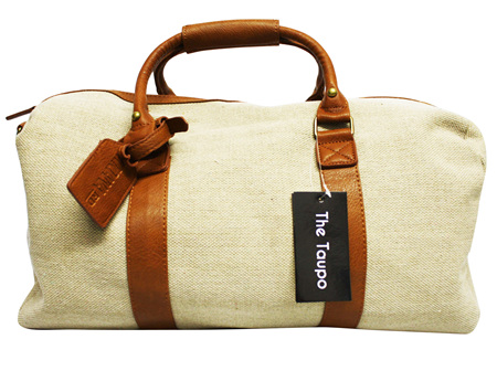 Moana Rd Canvas Overnight bag Taupo