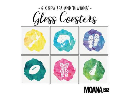 Moana Rd Coasters Kiwiana
