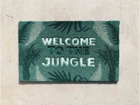Moana Rd Doormat Welcome to the Jungle