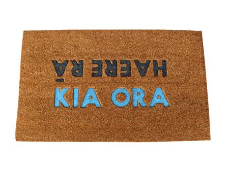 Moana Rd Doormats Kia Ora, Haere Ra