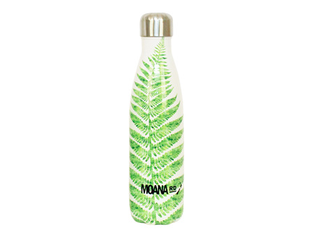 Moana Rd Drink Bottle Fern 500ml
