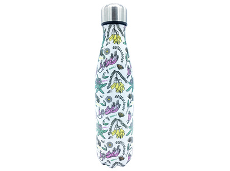 Moana Rd Drink Bottle Nz Flowers 500ml