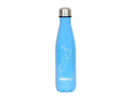 Moana Rd Drink Bottle NZ Map 500ml