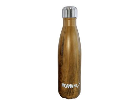 Moana Rd Drink Bottle Wood 500ml