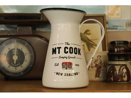 Moana Rd Enamel Jug Mt Cook  White 19cm