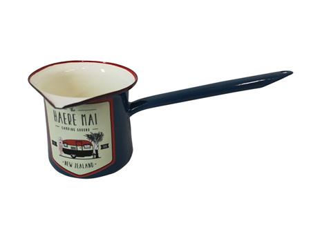 Moana Rd Enamel Milk Warmer Haere Mai Enamel Milk Warmer
