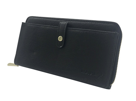 Moana Rd Fitzroy Ladies Wallet Black