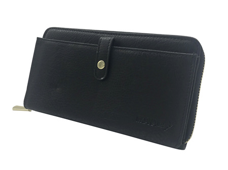 Moana Rd Fitzroy Ladies Wallet Black