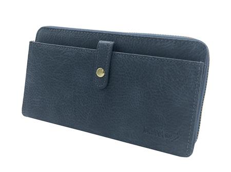 Moana Rd Fitzroy Ladies Wallet Blue