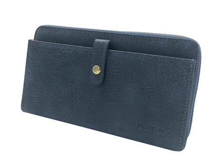 Moana Rd Fitzroy Ladies Wallet Blue