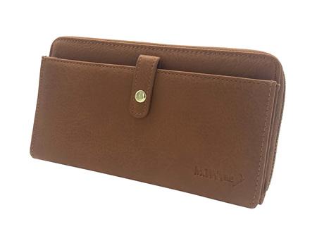 Moana Rd Fitzroy Ladies Wallet Tan