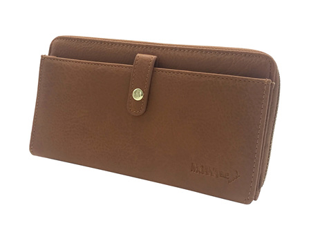 Moana Rd Fitzroy Ladies Wallet Tan