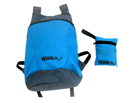 Moana Rd Foldable Back Pack Blue
